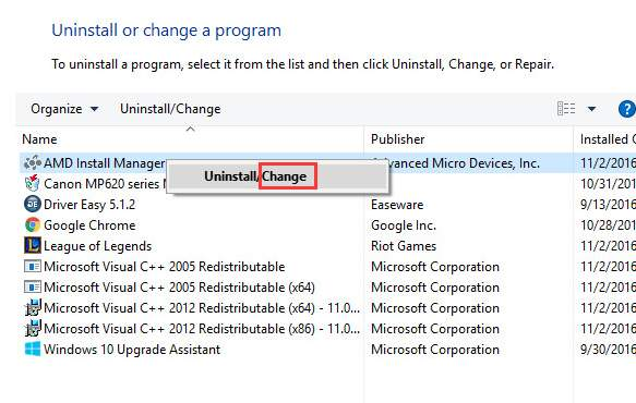 should i download amd driver automatic detecct or manually