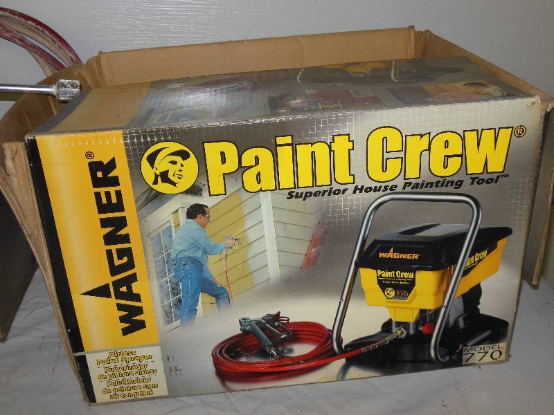 wagner airless paint sprayer model 770 manual