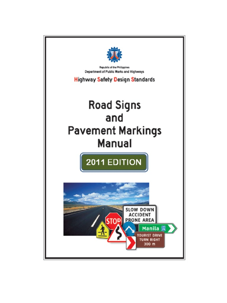 dpwh road safety design manual pdf
