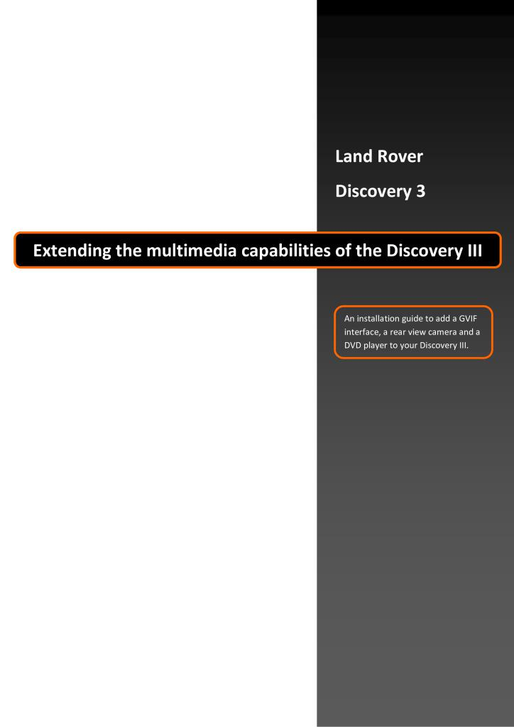 land rover discovery 3 user manual download